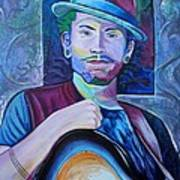 John Butler Poster by Joshua Morton