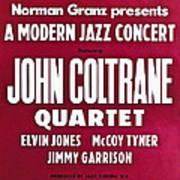 John Coltrane Quartet In Sweden Poster