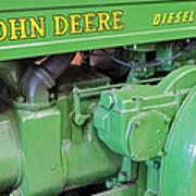 John Deere Diesel Poster by Susan Candelario