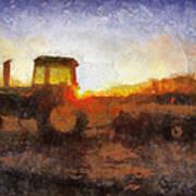 John Deere Photo Art 06 Poster