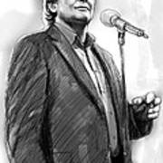 John Farnham Art Drawing Sketch Portrait Poster