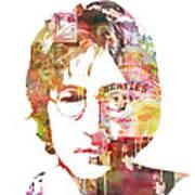 John Lennon Poster by Mike Maher