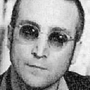 John Lennon Mosaic Image 9 Poster