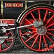 John Molson Steam Train Locomotive Poster