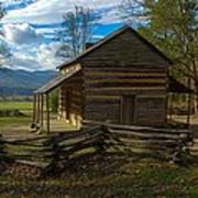 John Oliver Cabin Cades Cove Tn Poster by Paul Herrmann
