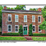 John Snow House Worthington Poster