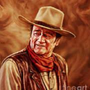 John Wayne Poster