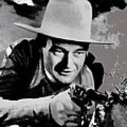 John Wayne Two-fisted Law  1932 Publicity Photo Poster