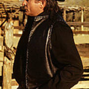 Johnny Cash Golden Gate Peak Old Tucson Arizona 1971 Poster