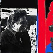 Johnny Cash  Smiling Collage 1971-2008 Poster