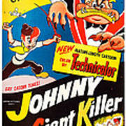 Johnny The Giant Killer, Aka Jeannot Poster