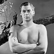 Johnny Weissmuller, Ca. Mid-1930s Poster