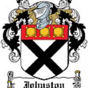Johnston Coat Of Arms Irish Poster