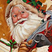 Jolly Santa Poster