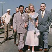 Jone Ann Pedersen Miss California June 1949 Poster