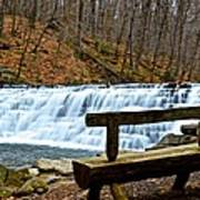 Jones Mill Run Dam Relaxing View Poster