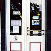 Jonesborough Tennessee Main Street Shop Poster