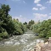 Jordan River  Poster by Rita Adams