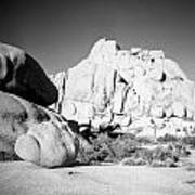 Joshua Tree Rock Formation Poster