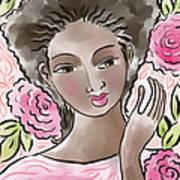 Joy In Flowers Poster