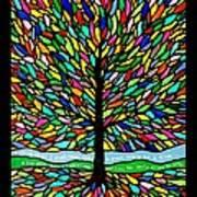 Joyce Kilmer's Tree Poster