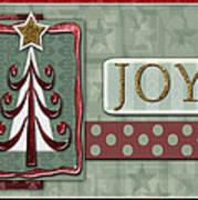 Joyful Tree Card Poster