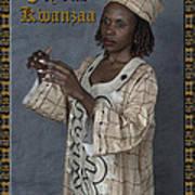 Joyous Kwanzaa  Photo Greeting Card Poster by Andrew Govan Dantzler