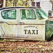 Juarez Taxi Poster