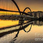 Jubia Bridge Naron Galicia Spain Poster