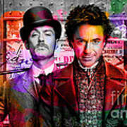 Jude Law And Robert Downey Jr Poster