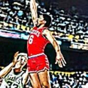 Julius Erving Poster