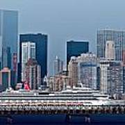 July 7 2014 - Carnival Splendor At New York City - Image 1674-01 Poster