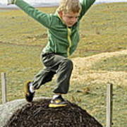 Jumping Haystacks Poster