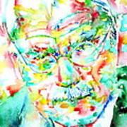 Jung - Watercolor Portrait.2 Poster