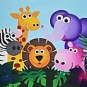 Jungle Poster by Bav Patel