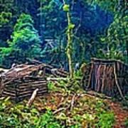 Jungle Homestead Poster