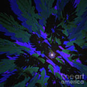 Jungle Night Sky By Jammer Poster