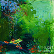 Jungle Rains I Poster by Tracy L Teeter
