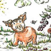 Junior Pig Poster