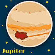 Jupiter Poster by Christy Beckwith