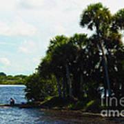 Jupiter Florida Shores Poster
