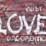 Just Love Unconditional  Poster