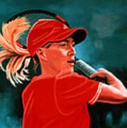 Justine Henin  Poster by Paul Meijering