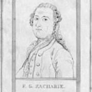 Justus Zachariae (1726-1777) Poster