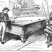 Juvenile Delinquency, 1881 Poster
