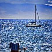 Kaana Pali Beach In Maui Poster by David Smith