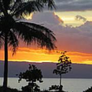 Kaanapali Sunset Poster