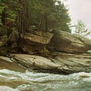 Kaaterskill Falls In Autumn, Catskill Poster