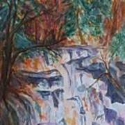 Kaaterskill Falls In The Catskills Poster