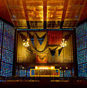 Kaiser Wilhelm Church Organ Poster
